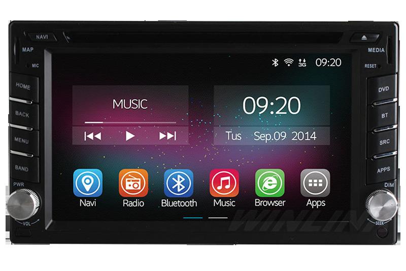 Auto akustika Android OS Varnica